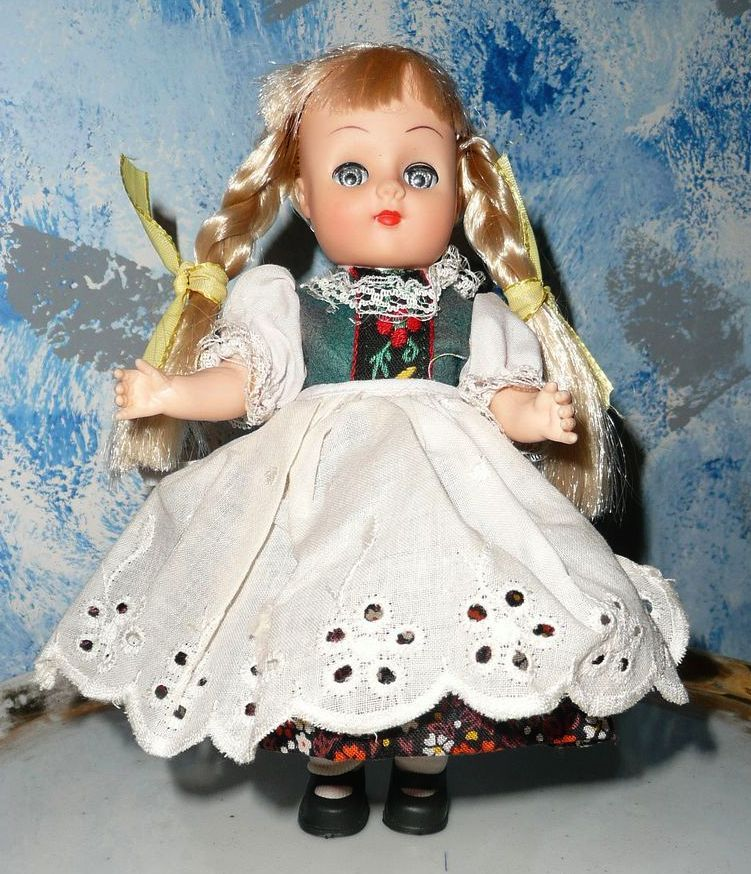 1970's New Bright Industries Doll from Norway