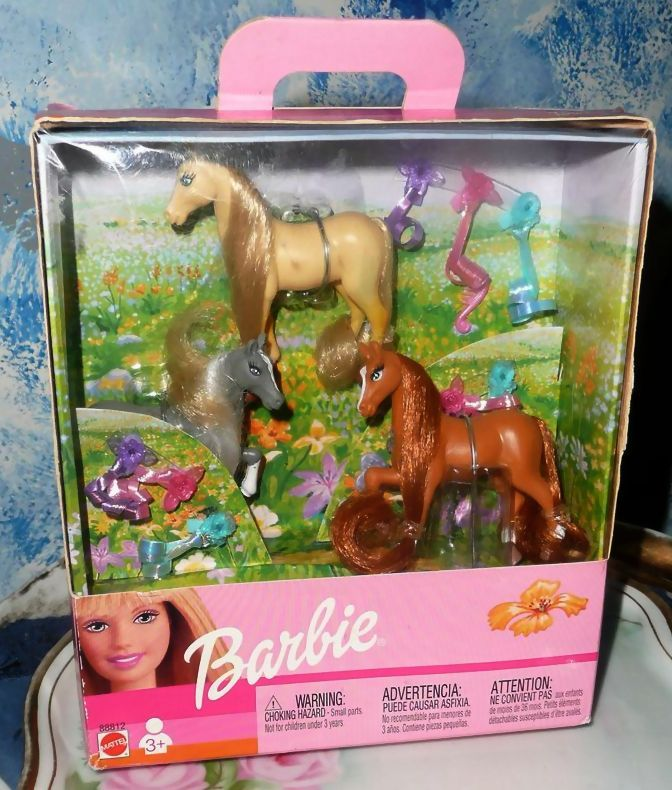 Barbie's Ponies with Hair Bows *Discontinued