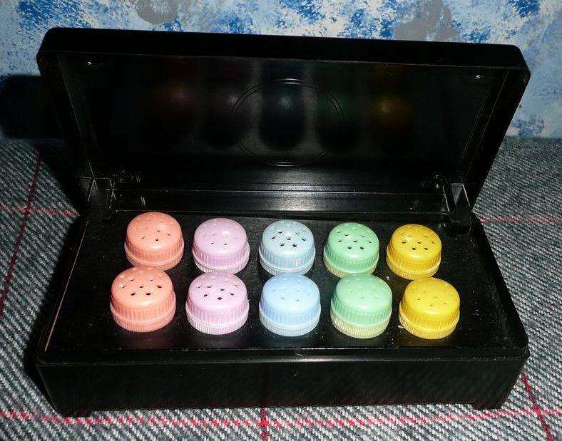 Set of Ten  Individual Shakers in Original Box