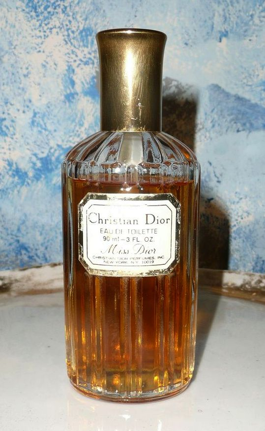 Unique Vintage Miss Dior, Christian Dior Eau de Toilette 3 oz.