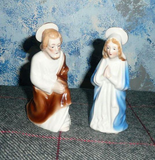 'Ajax' Set of The Holy Virgin Mary and Saint Joseph