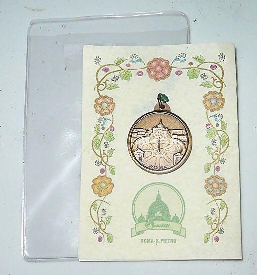 'Mater Ecclesiae' + Roma Vaticano  Roman Catholic Medal