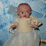 Rubber 1950's Doll All Original