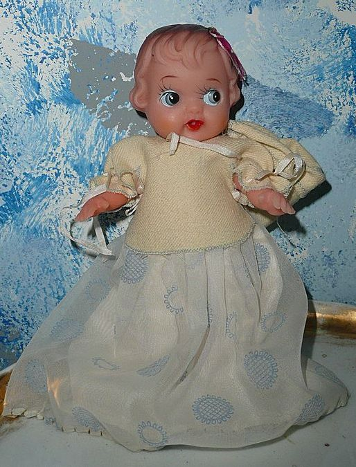 Rubber 1950's Doll All Original