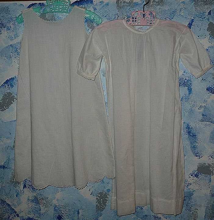Vintage  Christening  Double  Dress