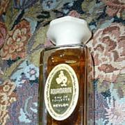 1961 Revlon AQUAMARINE Eau de Toilette Perfume Bottle