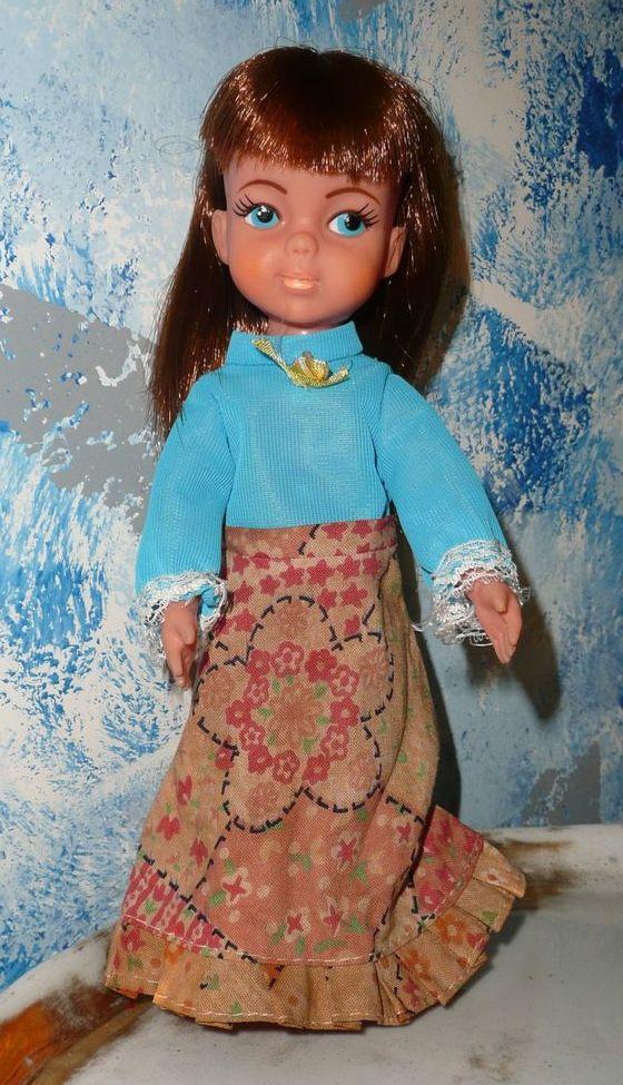 "1960's Vintage 9"" Vinyl Doll"