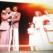 Willie Chirino and Tony Alvarez at Olga y Tony Anniversary Concert