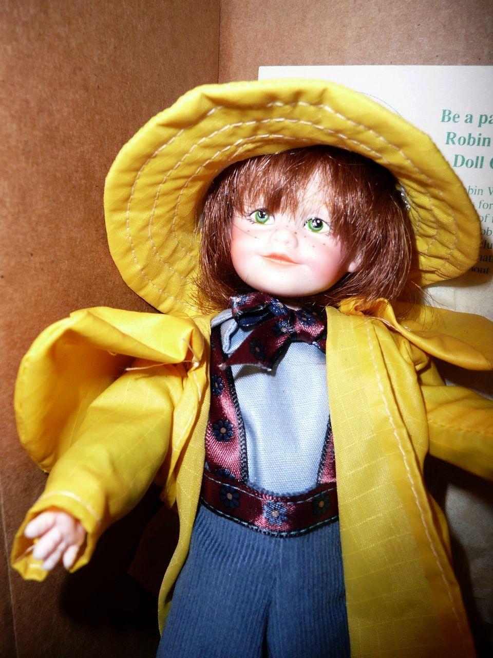 "Robin Woods 1990 John ""Happiness"" Doll *Mint"