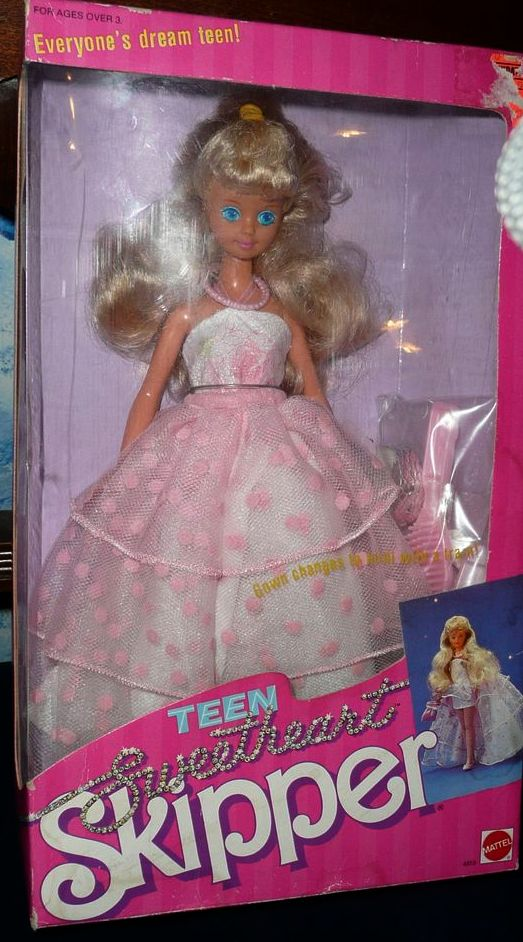 1987 Mattel Teen Sweetheart Skipper *NIB