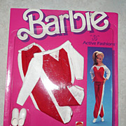 1984 Barbie Active Fashion #7913  *NIB