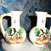 Oil and Vinegar  Ewer Set