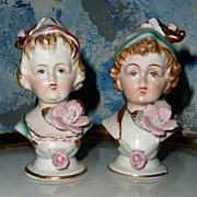 Ucagco Gorgeous Victorian Boy/Girl Shakers