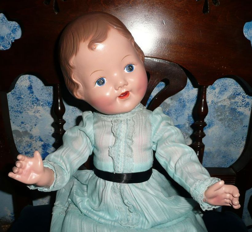 "Gorgeous 24"" Tall Composition Patsy Ann Type Doll"