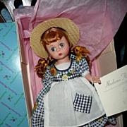"Madame Alexander 8"" Rebecca  of  Sunnybrook Farm  #14647"