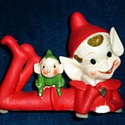 Unusual Pixie Elf with its Pixie Elf Friend