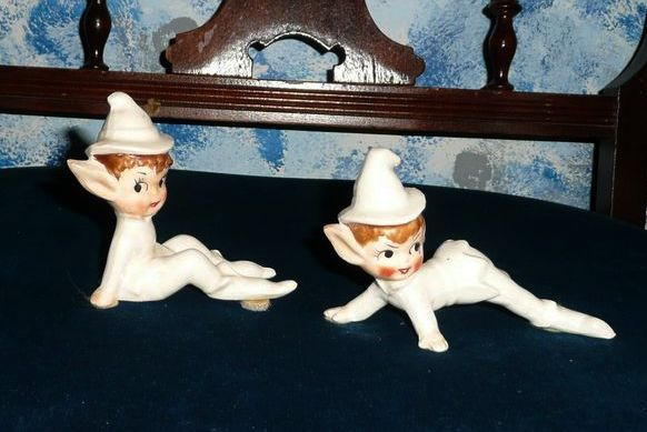 Cute Winter White Baby  Pixie Elfs