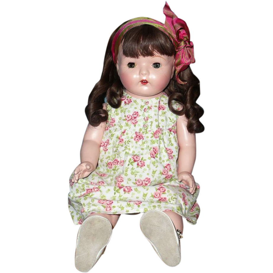 "Vintage 24""  Restored Mama Doll from the 1920's"