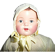 "Vintage beautifully  Restored 10""  Composition Doll"