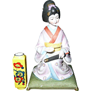 Vintage Geisha Musical Box