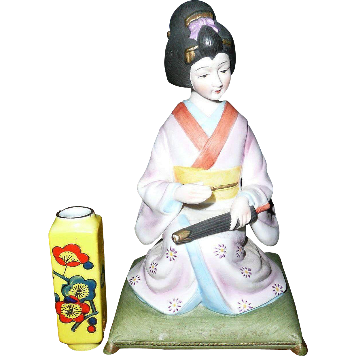 Vintage Geisha Musical Box