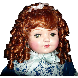 """Gorgeous  Huge 20"""" Composition Mama Doll"""