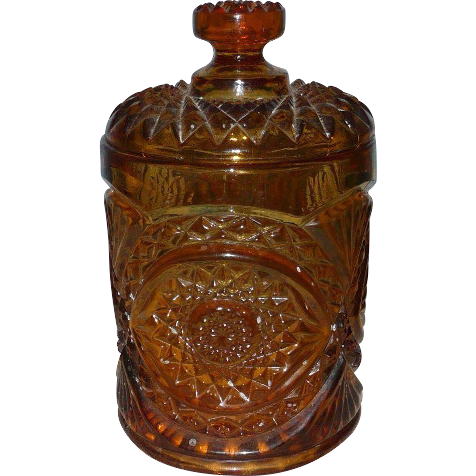 Indiana Glass Company 1970 Canister