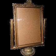 Vintage Ornate all Wood picture frame