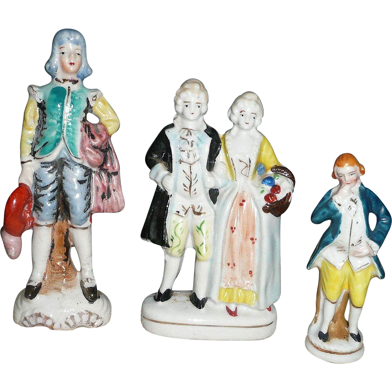 Lot of 3 Occuoied Japan Figurines