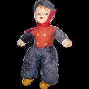 Vintage Sweden  Sailor Boy Doll