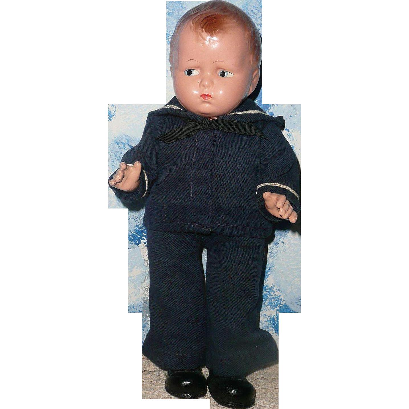 Effanbee  Sailor Grumpy Doll 1925