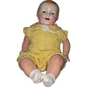 "Huge  ACME  Toys 24""  Baby Boy Doll"