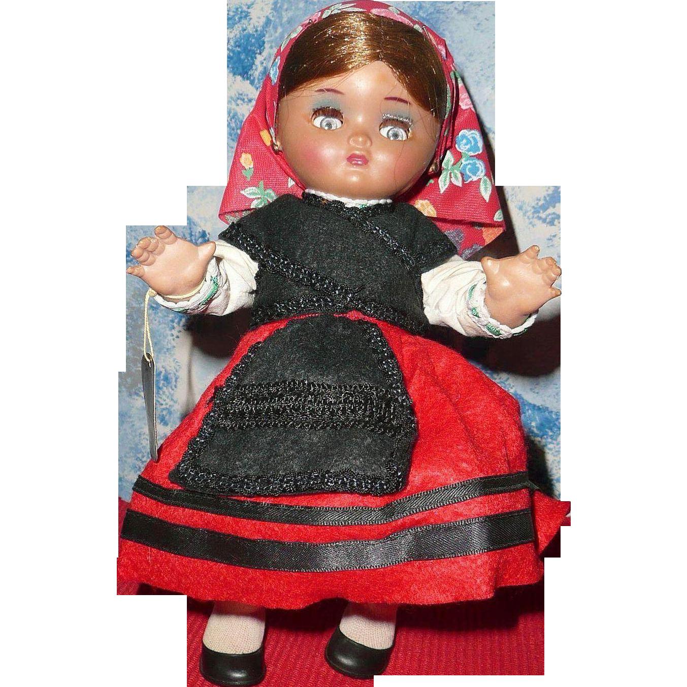 1950-1960 Muñecas de Alba PIRULA Spain *Galicia