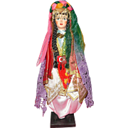 Vintage Turkish Souvenir HURREM Sultan Doll