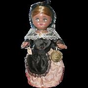 "PIRULA ""Muñecas de Alba"" Linda vintage Doll 1950-1960 Spain"