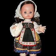 """Vintage 12"""" Spanish Peasant Doll"""
