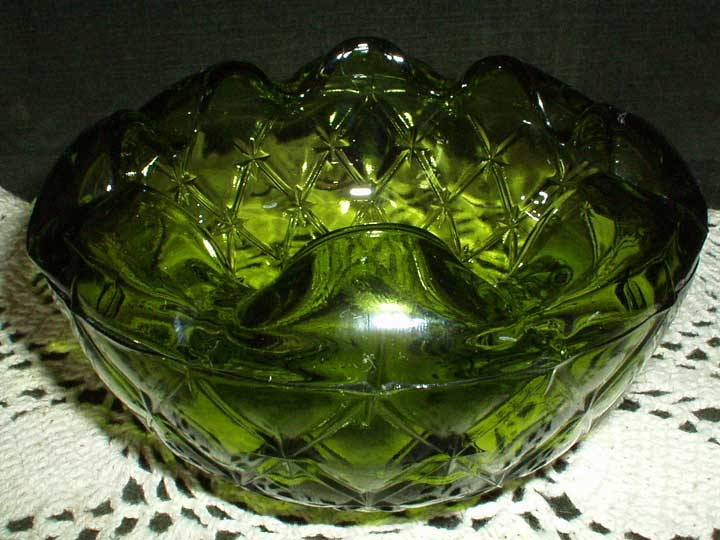 Viking Glass Dish/Ashtray