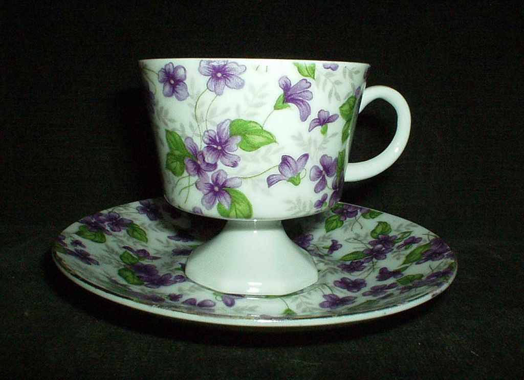Inarco Violets Cup Duo