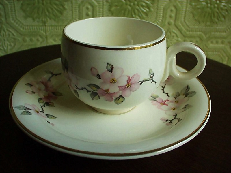 Vintage  Homer Laughlin Demitasse Duo