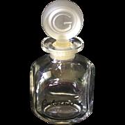 "Vintage ""Cabochard"" Perfume Bottle circa 1959-1960"