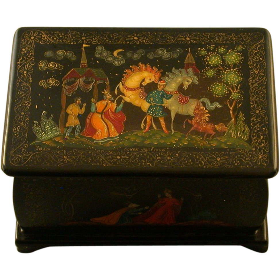 Unbelievable Russian Lacquer Boxes From 7