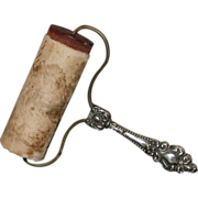 Sterling-Handled Rolling Ink Blotter, Early 20th Century