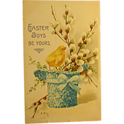 Easter Postcard, Pre-WWI, Printed in Germany, Sweet!