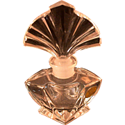 "Vintage Art Deco Style Perfume, Labeled ""Made In West Germany"""
