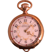 American Waltham Watch,  Lady's Pendant Watch 1895-96, Working!
