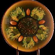 Edwards Star Original Enamel/Copper Bowl, Mid-Century Modern