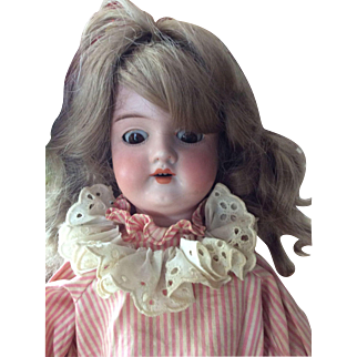 Antique Armand Marseilles Bisque Doll Needs Love