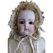 "Antique 18"" French Bisque Rabery & Delphieu Bebe Doll"