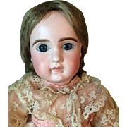 Antique French Bisque Jules Steiner Doll Marked A7