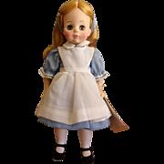 Vintage Hard Plastic Madame Alexander Alice in Wonderland Doll #1552